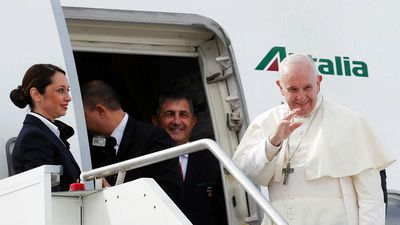 World News - Pope Francis becomes the first pontiff to visit the Arabian Peninsula