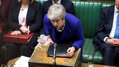 World News - May vows to 'battle for Britain and Northern Ireland' in Brussels Brexit talks