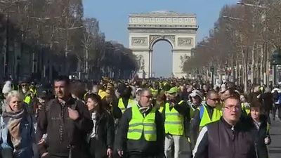 World News - Paris: Clashes marked third month of 'Gilets Jaunes' protests