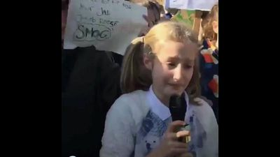 World News - Watch: Girl, 11, makes tearful climate plea: 'I love our planet and I don't want it to ever stop'