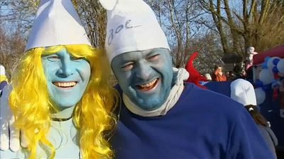 World News - Guinness World Records: German town 'holds largest-ever Smurfs meeting'