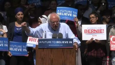 World News - Bernie Sanders launches second Democratic US presidential bid