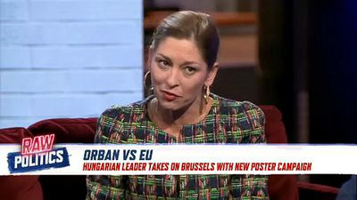 Raw Politics - Raw Politics: Orban takes aim at Juncker in poster campaign