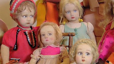World News - Watch: rare and antique dolls worth thousands go on show in Rome exhibition