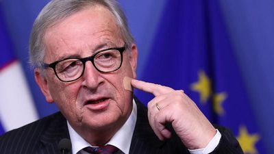 World News - EU Commission's Juncker: 'Don't blame May for my injury!'