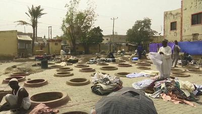 World News - Watch: Nigeria's traditional textile trade under threat