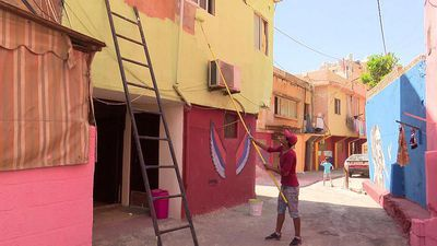 Inspire Middle East - Artists and locals make-over Beirut suburb of Ouzai
