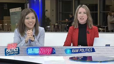 Raw Politics - Your Call in full: EU election voting, US vs. China in tech, does the EU need saving?
