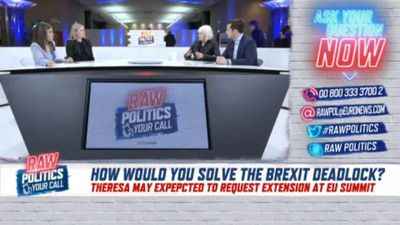 Raw Politics - Your call in full: Viewers chime in with Brexit solutions