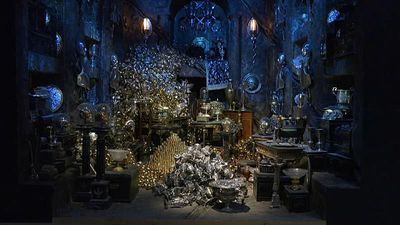 World News - Watch: Harry Potter studio tour expands into banking with Gringotts set