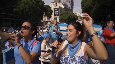 World News - Anti-abortion activists rally in Argentina