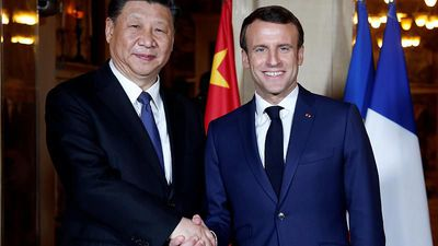 World News - Xi Jinping begins state visit to France