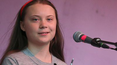 World News - Watch: Greta Thunberg makes powerful climate change speech in London