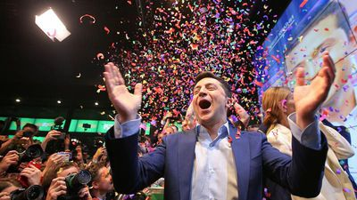 World News - Ukraine enters the unknown as comedian Zelenskiy wins election by a landslide