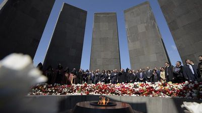 World News - Armenia marks killings anniversary as Erdogan rejects genocide claim