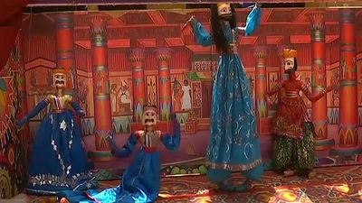 Watch: Puppets teach children religious tolerance in Pakistan