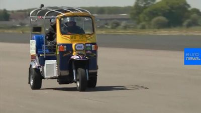 World record for highest speed reached on a Tuk Tuk broken in England