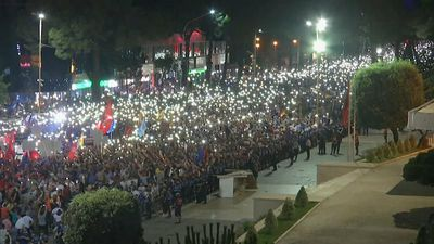 Protests continue in Albania with calls for election boycott and Prime Minister Rama to go
