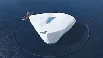 Will an Emirati businessman succeed in towing an iceberg to the UAE?