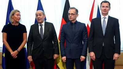 Watch Live: EU foreign ministers meet to discuss Iran nuclear deal amid fears of collapse