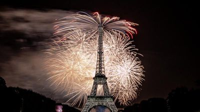 Watch back: Bastille Day fireworks in Paris