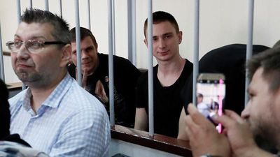 Moscow court considers extending detention of 24 Ukrainian sailors