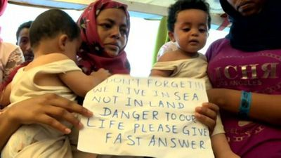 Open Arms rescue ship 'needs emergency medical evacuation' says Head of Mission