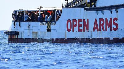 Open Arms captain says migrants are 'broken', ship is like a ticking bomb