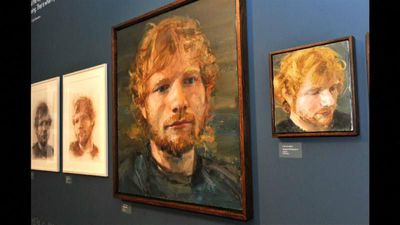 Ed Sheeran showcase opens in musician's home county of Suffolk