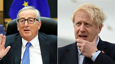 Boris Johnson to hold talks with EU's Jean-Claude Juncker on Monday as Brexit deadline looms