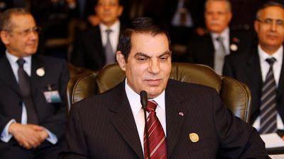 Tunisia's former president Zine El-Abidine Ben Ali has died, lawyer confirms