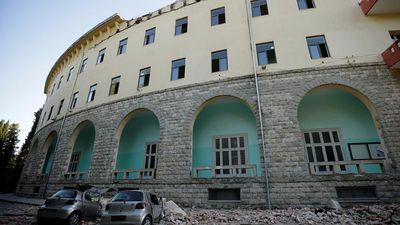 Albania earthquake: Magnitude 5.6 tremor felt in capital Tirana