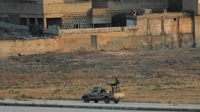 Hundreds of IS fighters' families flee camp in northern Syria: Kurdish officials