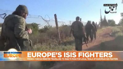 French foreign minister travels to Iraq to push for local trials of European ISIS fighters