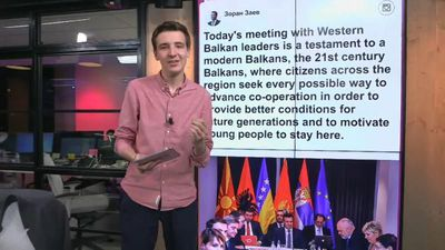 Western Balkan leaders plot their own 'mini-Schengen' zone