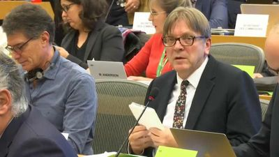 Verhofstadt says 'problems need to be solved' before Brexit deal can be ratified