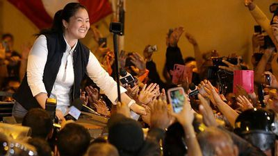 Peruvian opposition leader Fujimori freed from jail
