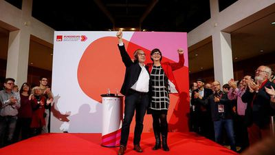 Germany's SPD elects new leftist leadership - raising doubts about future of ruling coaltion