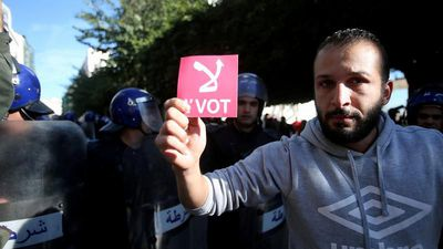 Polls open in Algeria election rejected by mass protest movement