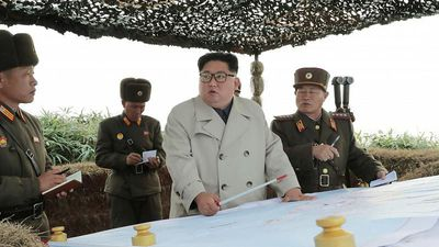 North Korea conducts 'crucial' test at a missile launch site