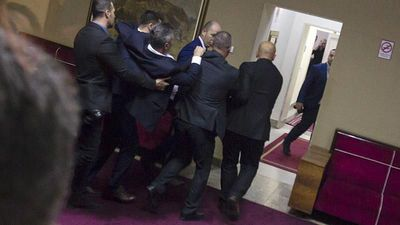 Parliamentary punch-up as Montenegro passes controversial religious law