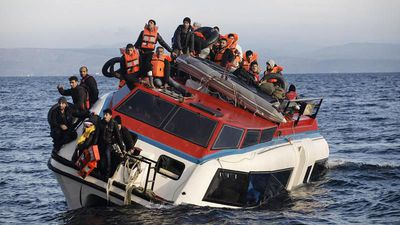 A dozen migrants dead after their boat sinks off Greek island