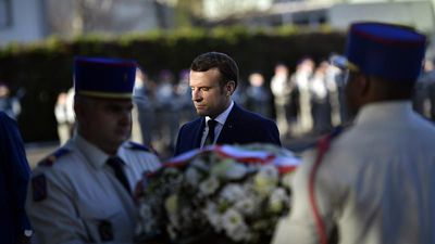 G5 Sahel leaders pay tribute to French soldiers killed in Mali