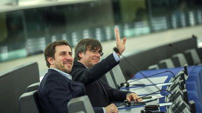 Catalan separatist leaders take up MEP seats in blow to Madrid