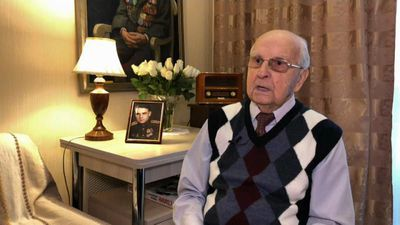 "'People were exhausted, emaciated by hunger,"" Russian Auschwitz liberator remembers"