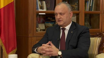 'Europe can only be stronger with Russia,' claims Moldova's president