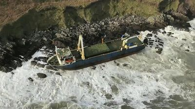 'Ghost ship': Why did this vessel wash up in Ireland without any crew aboard?