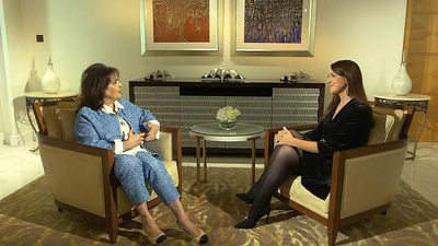 Journalist Baria Alamuddin discusses women's rights & daughter Amal Clooney