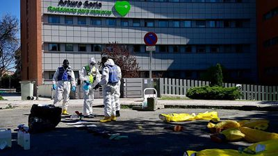 Spain reports record COVID-19 death toll with 832 new deaths in 24 hours