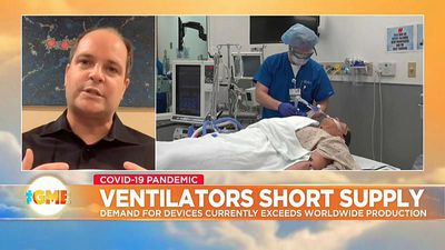 Companies race to churn out masks and ventilators amid COVID-19 pandemic